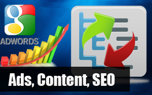 Ads, Content, SEO
